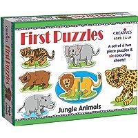 Creative's First Puzzles - Jungle Animals (Multi-Color)