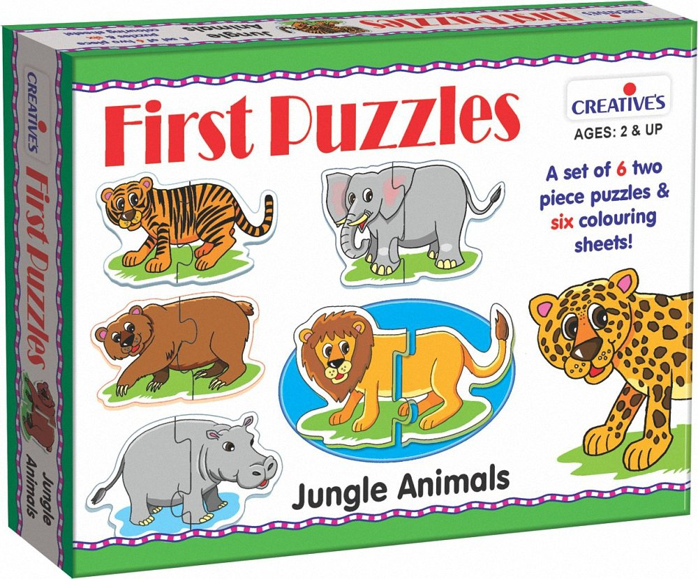 Creative's First Puzzles - Jungle Animals (Multi-Color) product image