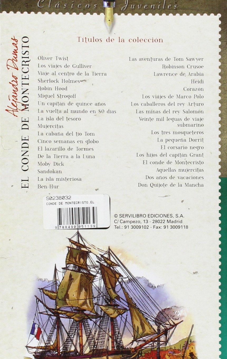 El Conde De Montecristo: Amazon.es: Equipo de Servilibro: Libros
