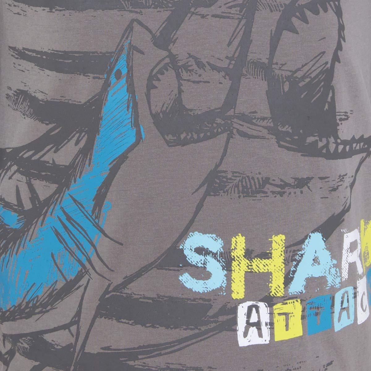 104//110 Grigio Taglia Produttore: 5A Tuc Tuc Camiseta Punto+Bermuda Estampada Felpa Ni/ño Summer Completino Bambino Gris 9