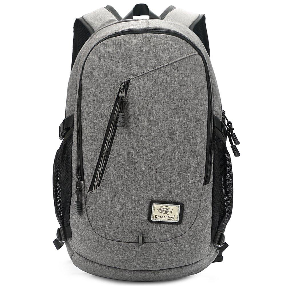ZEBELLA Slim Laptop Backpack 15.6 Inch Business Computer Bag College School Rucksack with USB Port