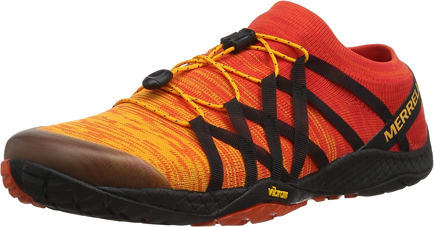 Merrell Trail Glove 4 Knit, Zapatillas Deportivas para Interior para Hombre, Naranja (Tropical Punch), 45 EU: Amazon.es: Zapatos y complementos