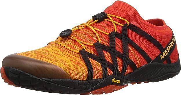 Merrell Trail Glove 4 Knit, Zapatillas Deportivas para Interior para Hombre, Naranja (Tropical Punch), 45 EU: Amazon.es: Zapatos y complementos