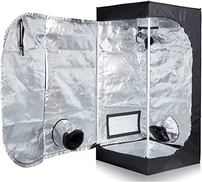 TopoLite 24x24x48 Indoor Grow Tent - The Best Small-Size Option