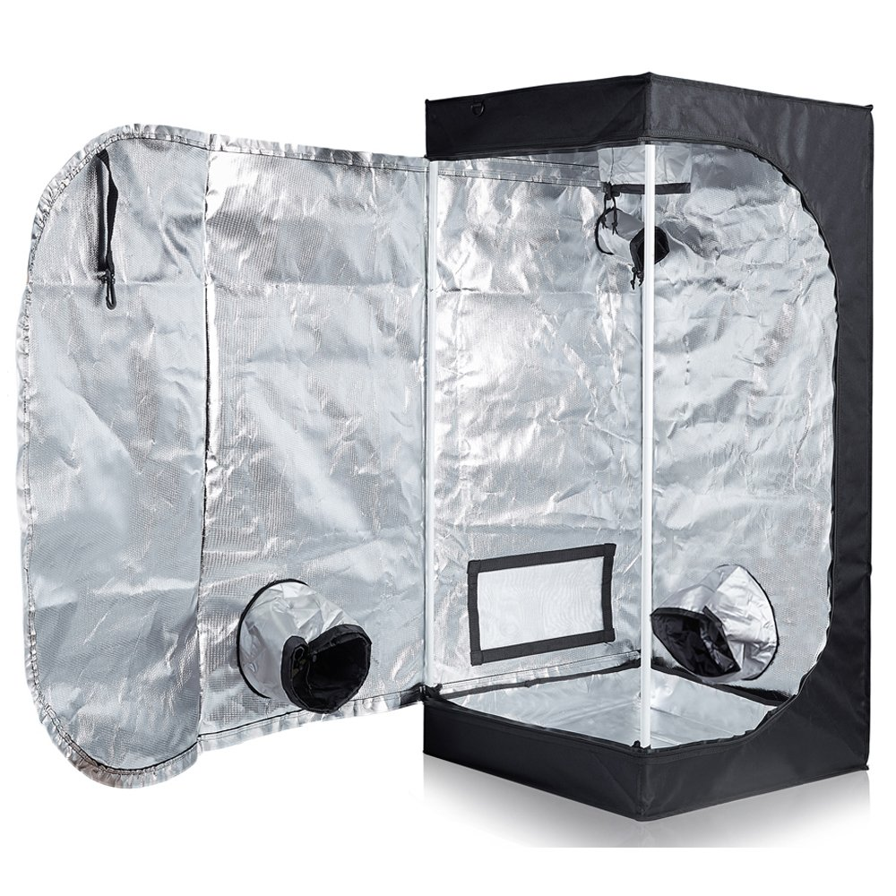 "TopoLite Full Range Multiple Sized 24""x24""x48"" Indoor Grow Tent"