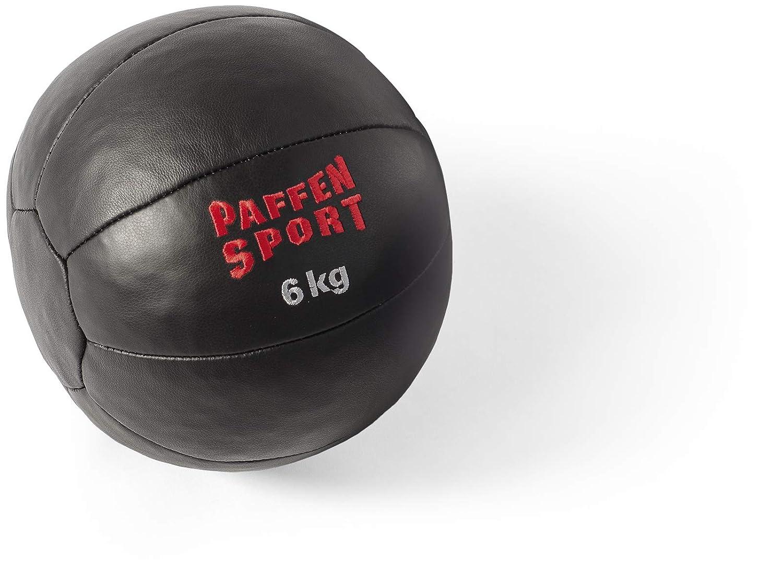Paffen Sport Star Balón Medicinal de Piel para el Entrenamiento de ...