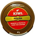 Kiwi Shoe Polish Paste Black And dark tan 0.2 fl oz