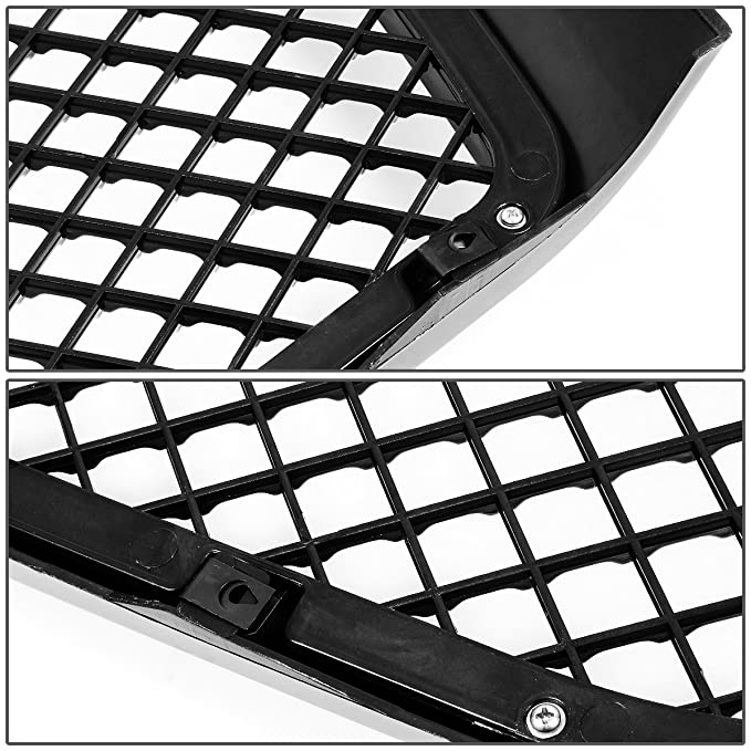 Amazon Com For Dodge Ram Abs Plastic Meshed Style Front Upper