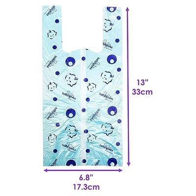 1SetOutdoor Baby Portable Disposable Diaper Plastic Discard Bag Radom ColoYNFK