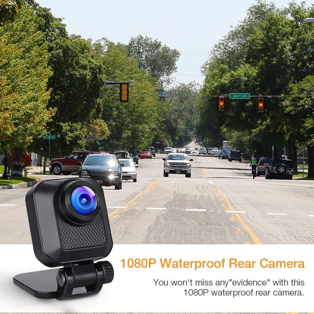 G-Sensor Super Night Vision Loop Recording WDR Parking Monitoring C860 APEMAN Dash Cam FHD 1440p /& 1080p Dual Dash Camera for Cars DVR with IR Sensor 6G Lens