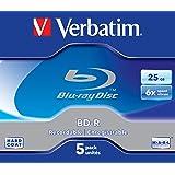 Verbatim 43715 - Discos de Blu-ray vírgenes (5 unidades), multicolor