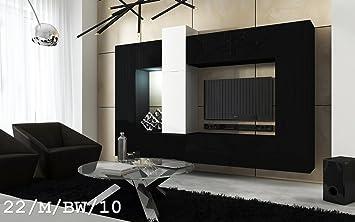 FUTURE 22 Wohnwand Anbauwand Wand Schrank Wände Schränke Wohnzimmer ...