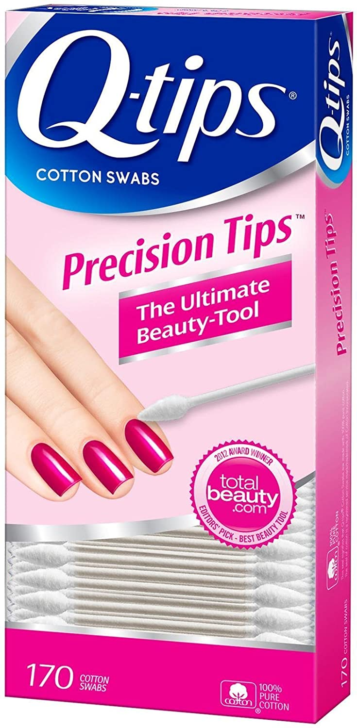 Q-Tips Precision Tips - 170 ct