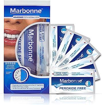 Dientes profesionales tiras de blanqueamiento - 28 dientes superiores del grado tiras blancas con la avanzada tecnología de blanqueamiento - A ...