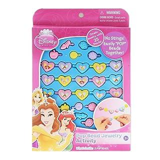 Disney Princess Pop Beads Jewelry 25ct Pack by Disney Princess