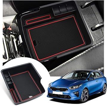 Organizer per braccioli per auto vano portaoggetti consolle centrale accessori interni LFOTPP Ceed Proceed GT