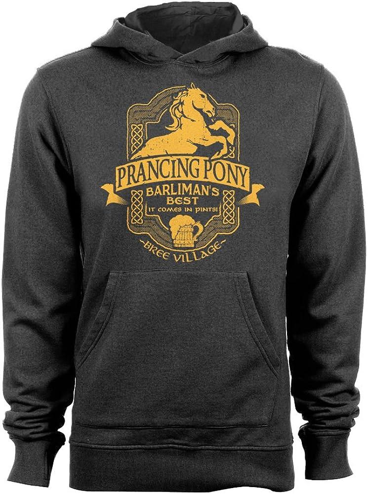 GEEK TEEZ Prancing Pony Barlimans Best Mens Hoodie