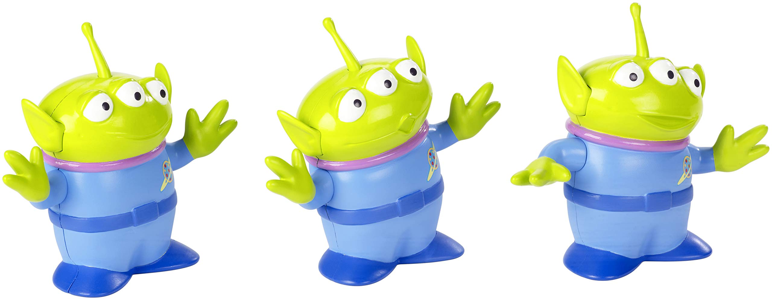 Disney Pixar Toy Story 4 Aliens Figures 4.4 in / 11.18 cm Tall 3 Posable Character Figures for Kids 3 Years and Older [Amazon Exclusive]