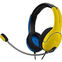 PDP Słuchawki LVL40 Stereo Żołty i Niebieski [Amazon Exclusive]