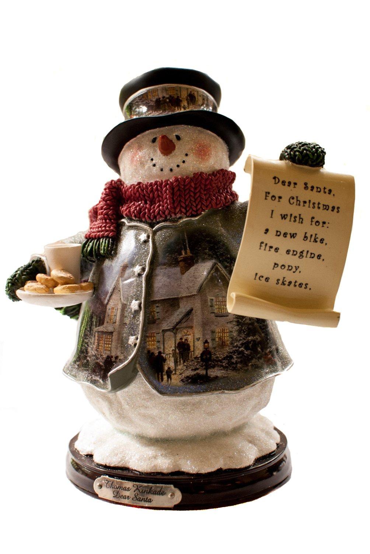 Thomas Kinkade The Bradford Exchange Dear Santa