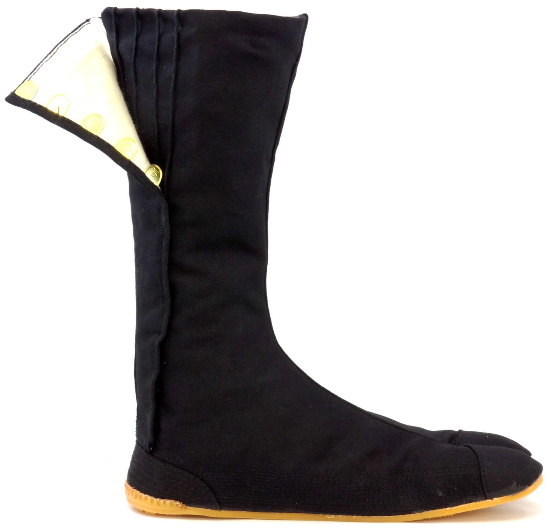 Ninja Shoes, Jikatabi, Rikkio Tabi Boots(US 5~12) Black / White!! +Travel bag (US 12 (30cm), Black) by Tabi Shoes (Image #3)