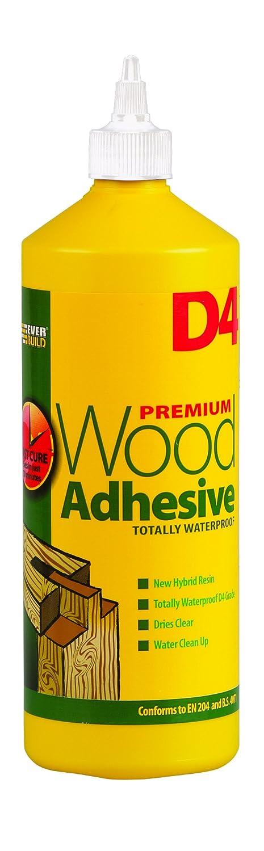 Colle à bois D41D4de Everbuild