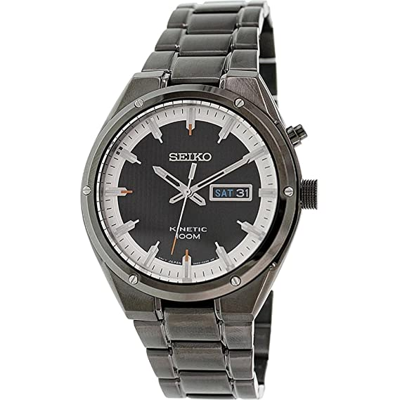 Seiko Kinetic Relojes smy153p1 Hombres