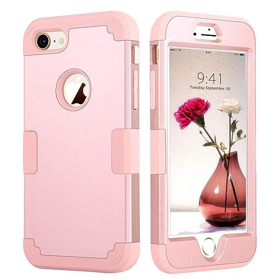 iphone 7 case shockproof rose godl