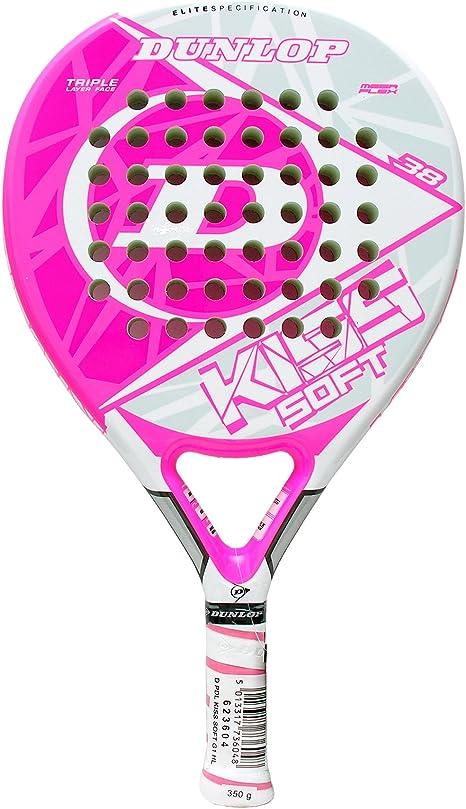 Pala de padel - Dunlop Kiss Soft: Amazon.es: Deportes y aire libre