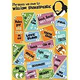 """Eureka Shakespeare 13"""" x 19"""" Posters (837397)"""