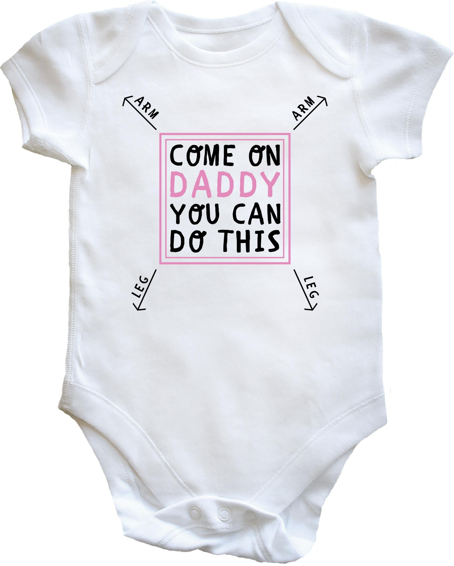 Hippowarehouse Personalised If Mum Says No Auntie Any Name Will Say Yes Baby Vest Bodysuit Boys Girls Long Sleeve