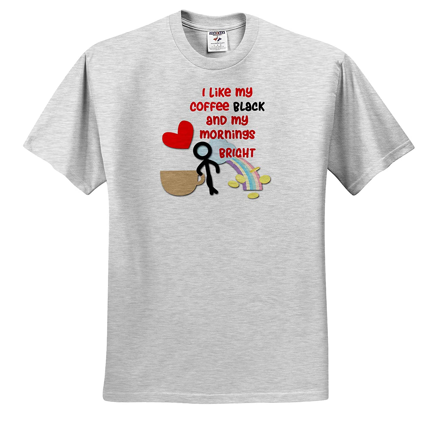 ts/_317044 Coffee time 3dRose SpiritualAwakenings Funny Humor so Have Fun with it Adult T-Shirt XL Brighten Your Day