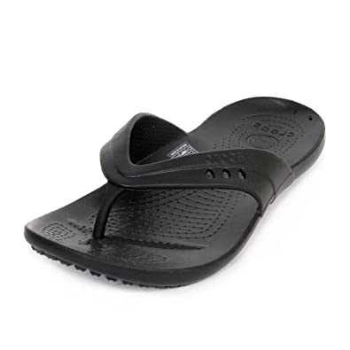 1672ca91fb7a crocs Women s Black Rubber Clogs and Mules - Flip Flops and House Slippers  -  14177-