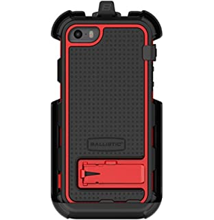 low priced b851c 266e6 Amazon.com: Ballistic Hard Core Case with Built-in Screen Protection ...