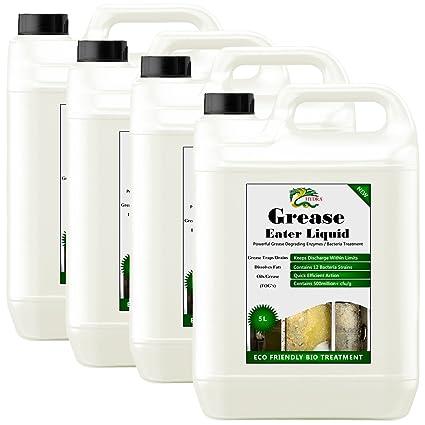 Saco de grasa comedor líquido de la enzima 5 x (4x5) desengrasador ...