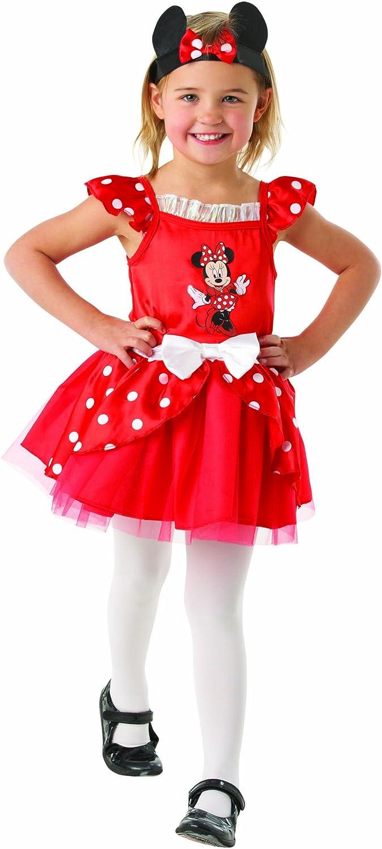 Disney Minnie Mouse Traje de Bailarina bebé 18-24 Meses. Vestido y ...
