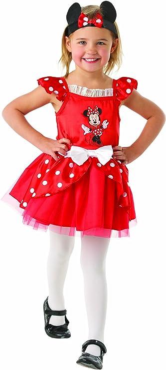 Disney - Disfraz de minnie para niña, talla 3-4 años (881871S ...