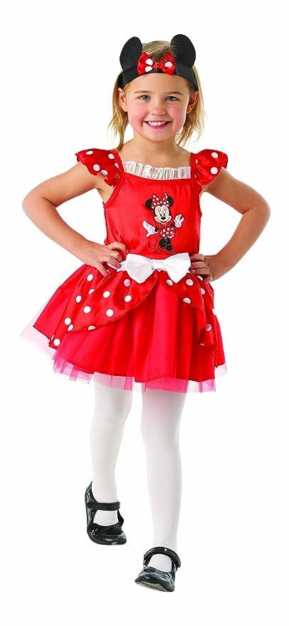 Disney Minnie Mouse Traje de Bailarina de 2-3 años de Vida. Vestido y la Diadema.