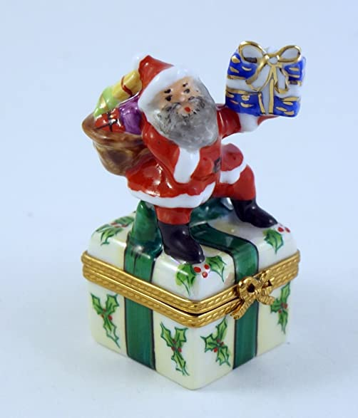Amazon.com: Authentic French Porcelain Hand Painted Christmas ...