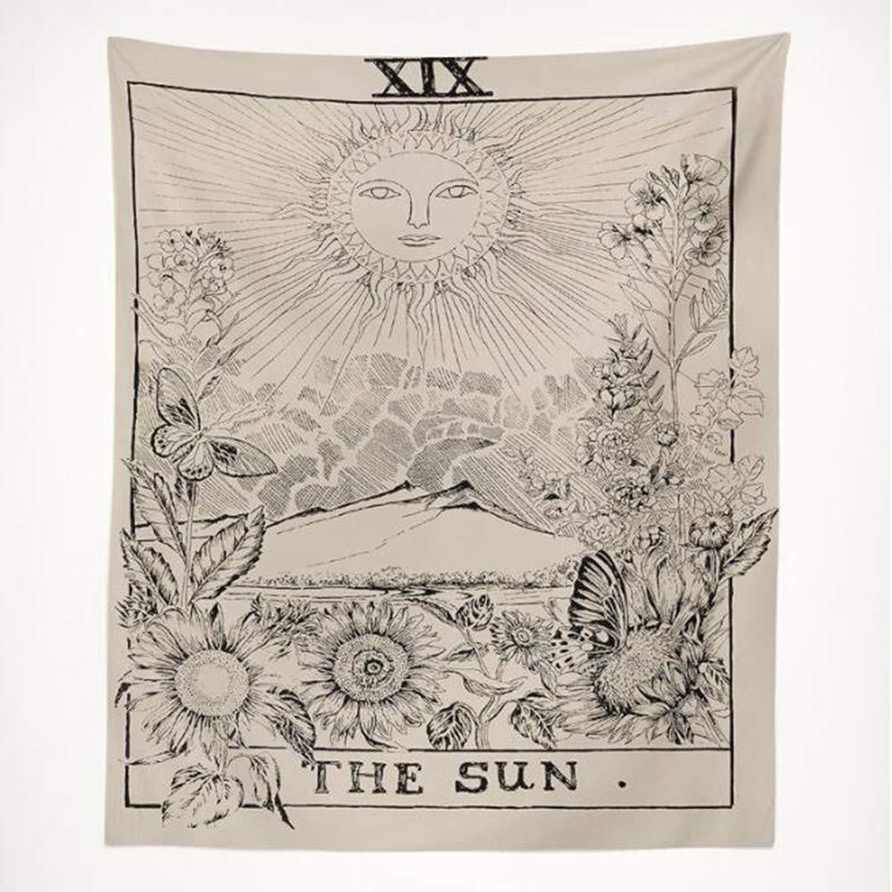 YXYP Tapestry di Decorazione della casa, arazzo di Salotto arazzo Hippie, tappezzeria Moda Tradizionale Ciondolo Decorazione da Parete tappezzeria