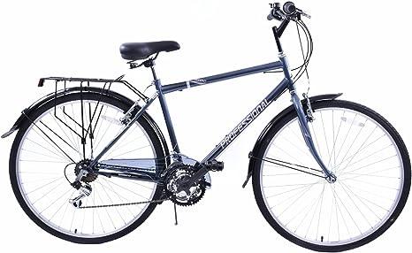 Bicicleta de paseo Regent, con rueda 700C en posición vertical ...