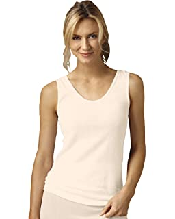 c293bf829a90ad Hanes Women s Mini-Ribbed Cotton Tank at Amazon Women s Clothing store