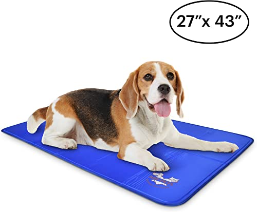 Arf-Pets-Pet-Dog-Self-Cooling-Mat-Pad-for-Kennels,-Crates-and-Beds-27x43