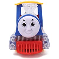 MWT TOYZ Bump and go Thomas Train Engine with 3D Lights and Music (Assorted Colors)