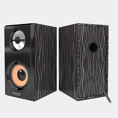 Renewed  Quantum QHM630 Multimedia Speakers  Black  Multimedia Speaker Systems