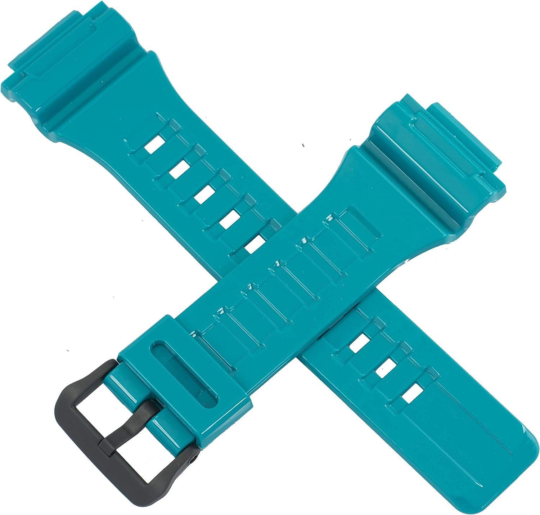 Casio - Correa de Reloj para AQ-S810WC-3AV AQ S810WC S810W, Color Azul