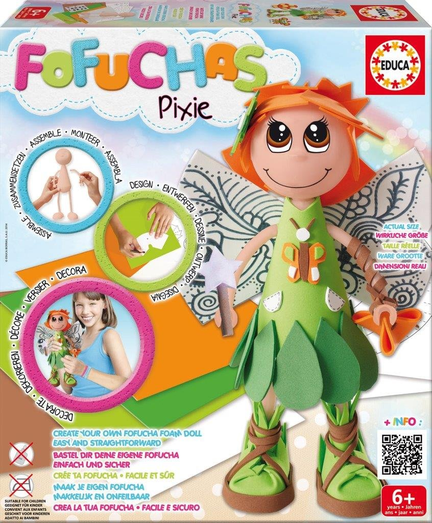 Educa - 16364 - Poupée - Fofucha - Pixie - Fairy