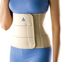 Oppo 2060 Abdominal Binder, Large, Core Support Brace for Women, Comfortable Abdomen Belt for Postnatal Support and Stability, Firm Compression Belt that Contours the Waist for Hip Support