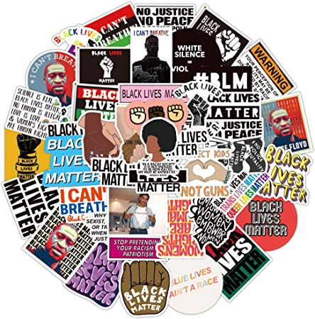 Black Lives Matter Stickers Bumper Stickers 4x4