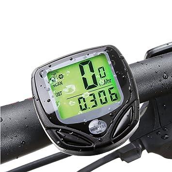 Inalámbrico para bicicleta odómetro Gofriend multifuncional bicicleta ordenador velocímetro de bicicleta original seguimiento automático de sensor
